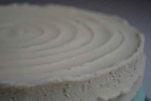 Ombre kage med smørcreme - fines.dk