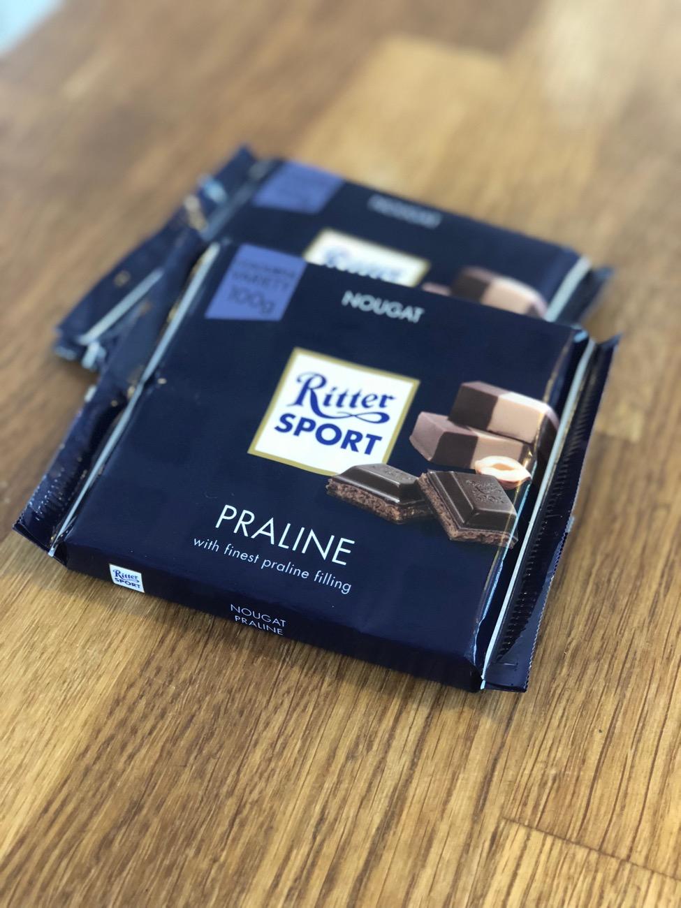 Hjemmelavet Ritter Sport islagkage - fines.dk