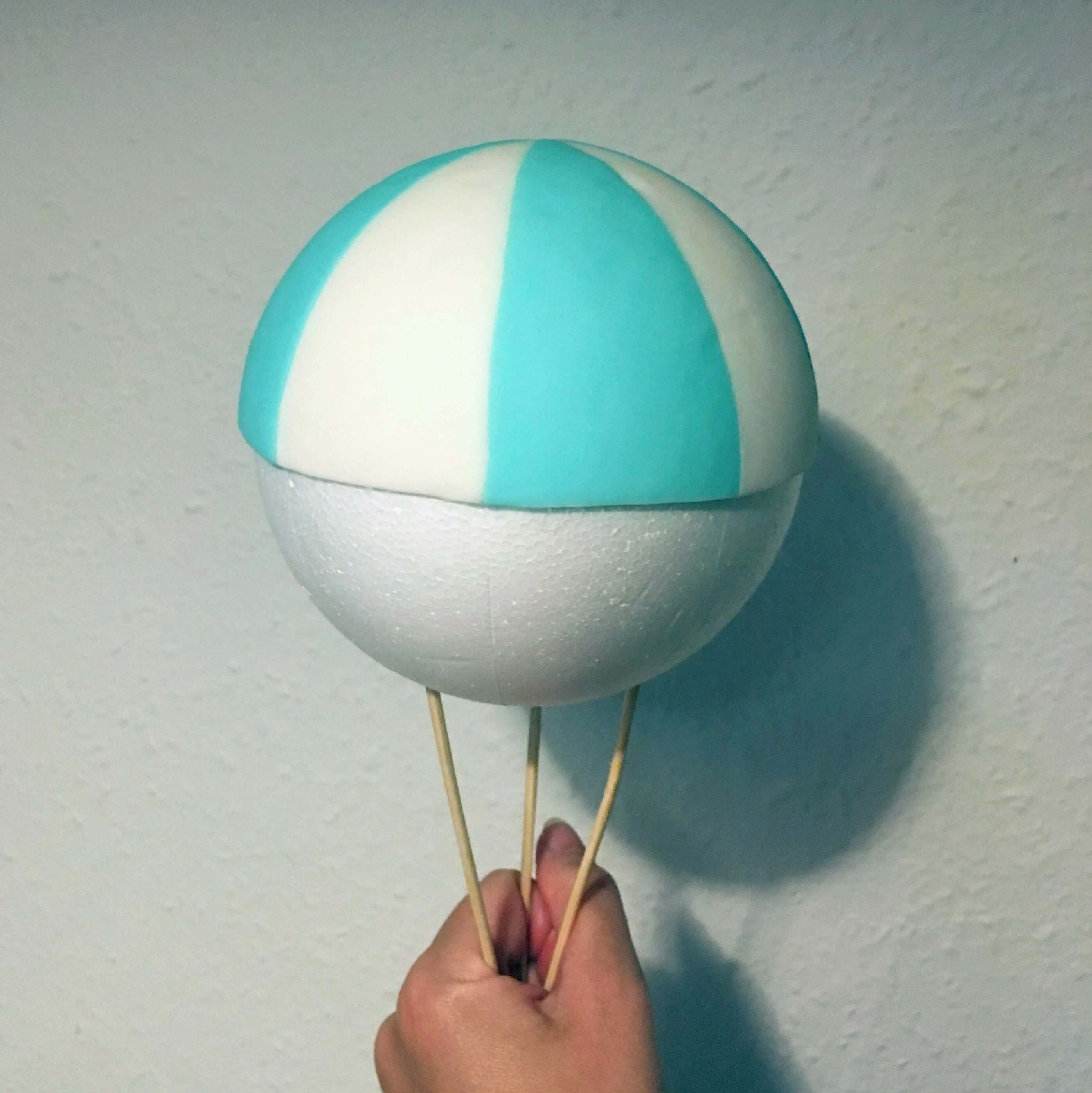 Luftballon step 1