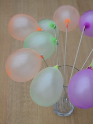Balloner til gelatinekugler