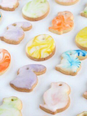 Marmorerede småkager til påske