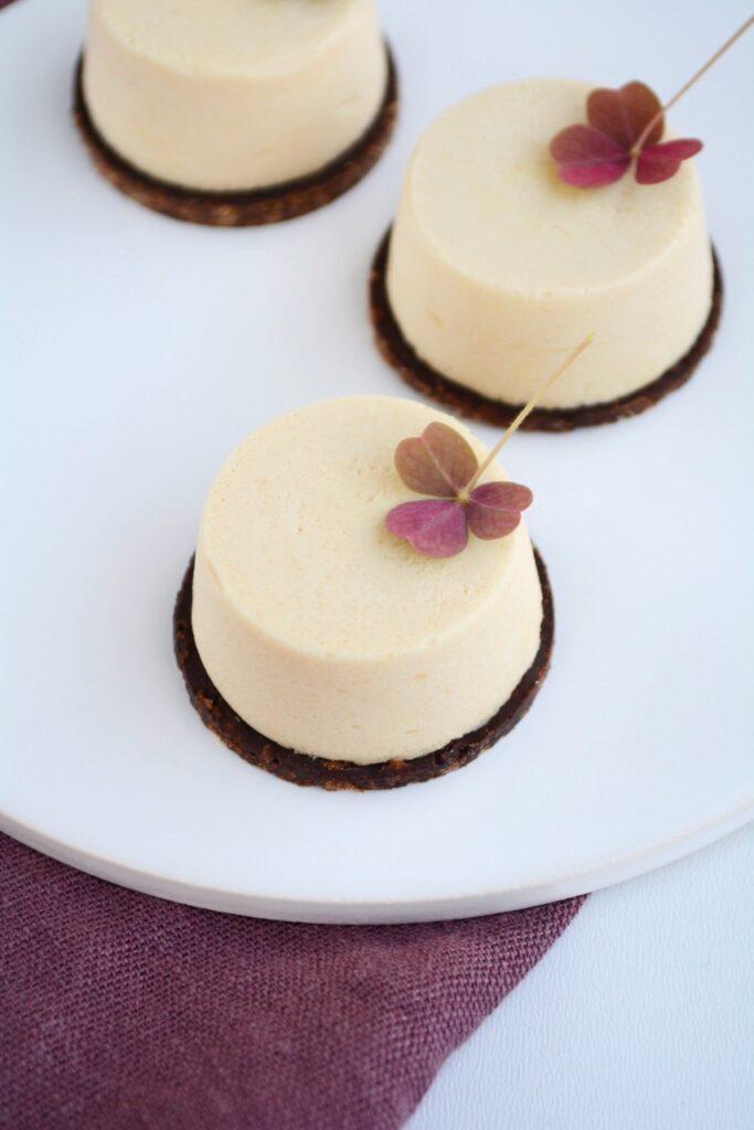 Karamelmousse kager