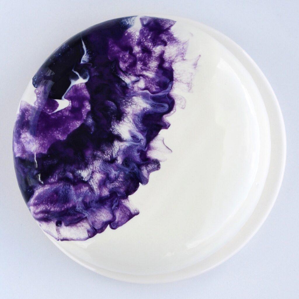Moussekage med mirror glaze