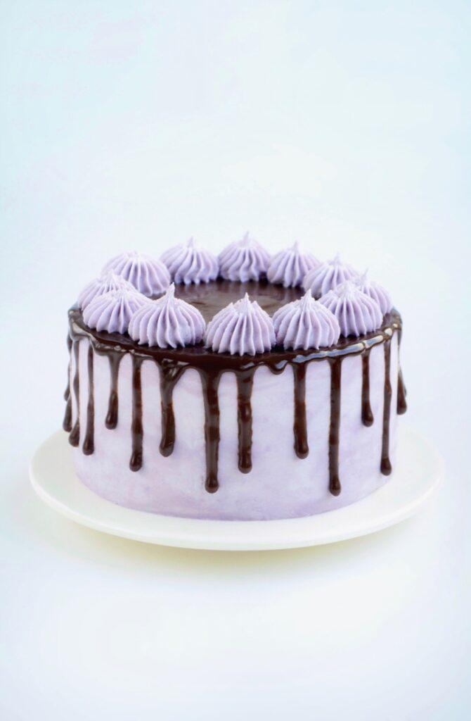 Drip cake med chokoladeganache