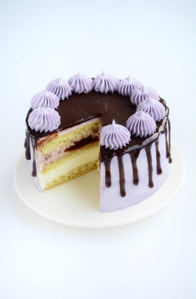 Drip kage med chokoladeganache